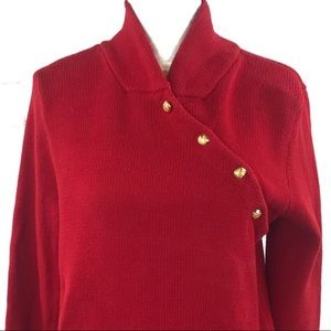 Lauren red sweater